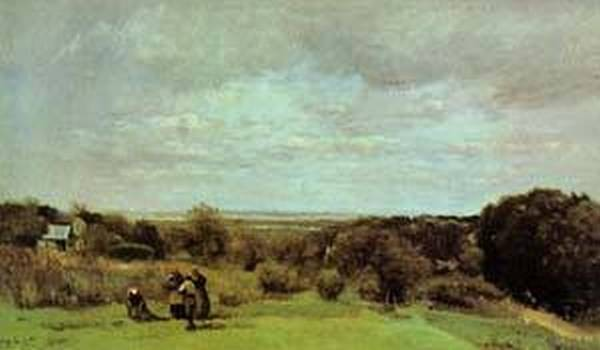The Grape Harvest at Sevres 1865